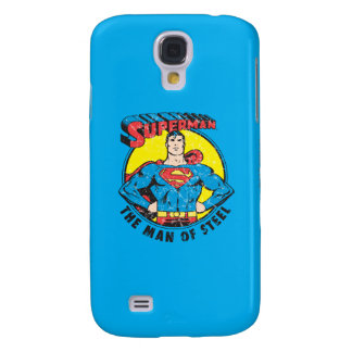 Superman The Man of Steel Galaxy S4 Case