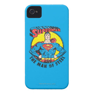 Superman The Man of Steel iPhone 4 Case