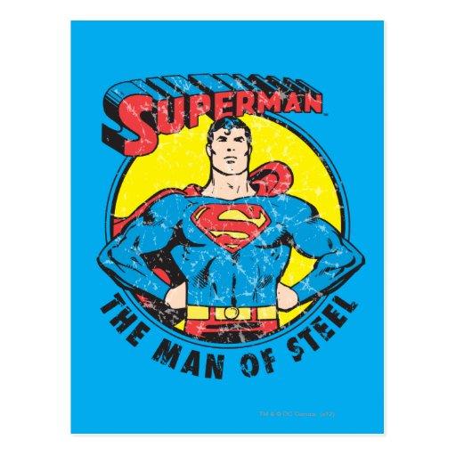 Superman The Man of Steel Postcards