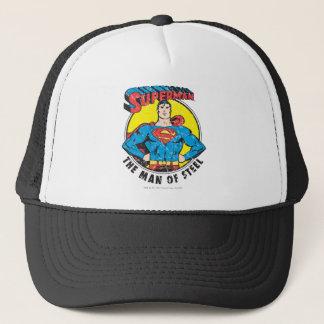 Superman The Man of Steel Trucker Hat