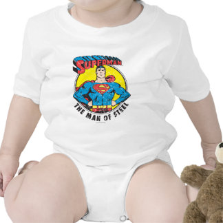 Superman The Man of Steel Baby Bodysuits
