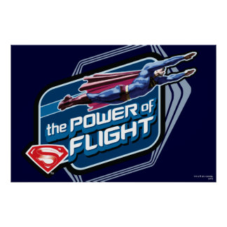 Superman The Power of Flight Print