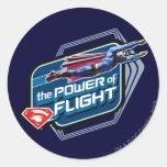 Superman The Power of Flight Sticker