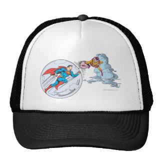 Superman Trapped in Bubble Cap