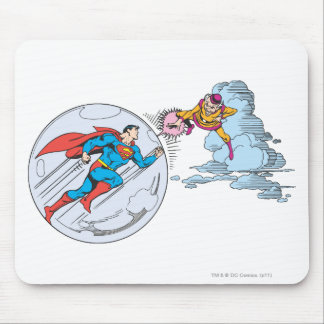 Superman Trapped in Bubble Mouse Mat