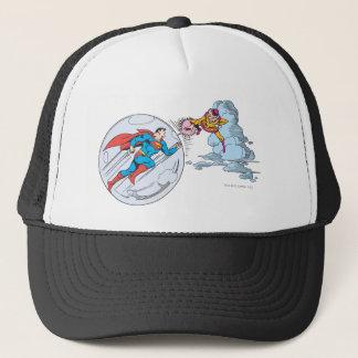Superman Trapped in Bubble Trucker Hat