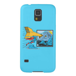 Superman Tunneling Into Rock Cases For Galaxy S5