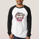 Superman - Twisted Innocence Logo Shirt