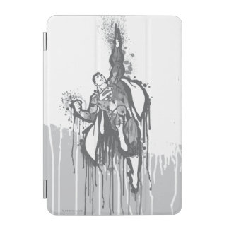 Superman Twisted Innocence Poster BW iPad Mini Cover