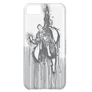 Superman Twisted Innocence Poster BW iPhone 5C Case