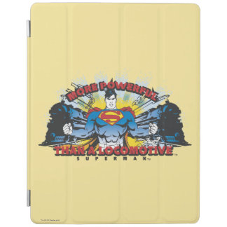 Superman - Two Trains iPad Cover