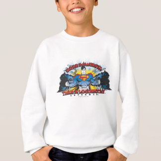 Superman - Two Trains Sweatshirt