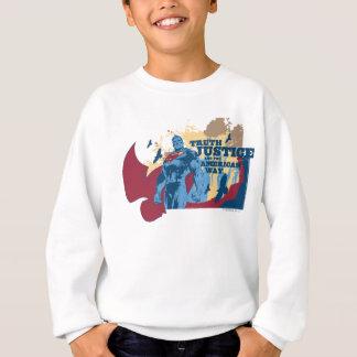 Superman with birds sweatshirt
