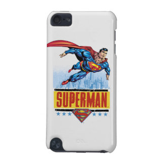 Superman with cityscape iPod touch 5G cover