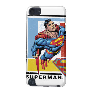 Superman with colorful background iPod touch (5th generation) cases
