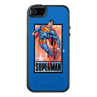Superman with dark border OtterBox iPhone 5/5s/SE case