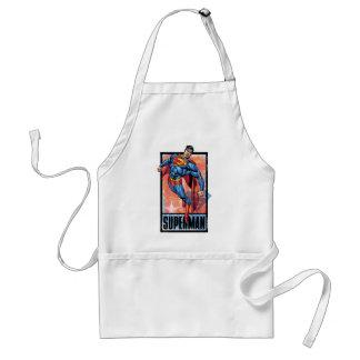 Superman with dark border standard apron