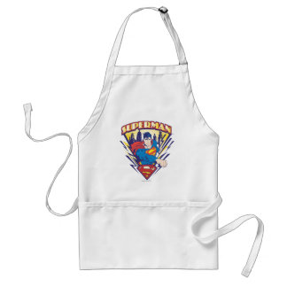 Superman with Electricity Apron