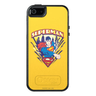 Superman with Electricity OtterBox iPhone 5/5s/SE Case