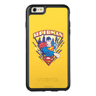 Superman with Electricity OtterBox iPhone 6/6s Plus Case