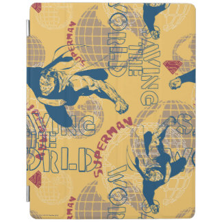 Superman with globes iPad cover