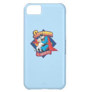 Superman with Krypto iPhone 5C Case