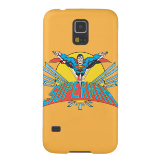 Superman with Letters Galaxy S5 Cases