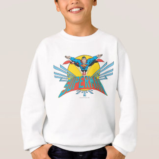 Superman with Letters Sweatshirt