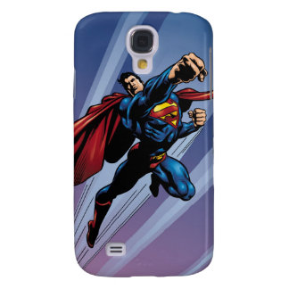 Superman with light streaks galaxy s4 case
