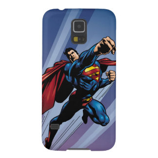 Superman with light streaks galaxy s5 cases