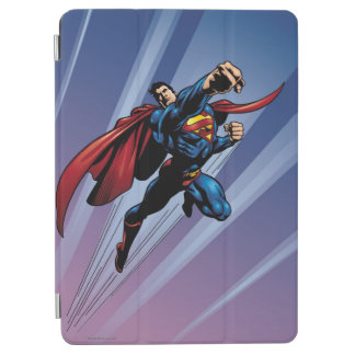 Superman with light streaks iPad air cover