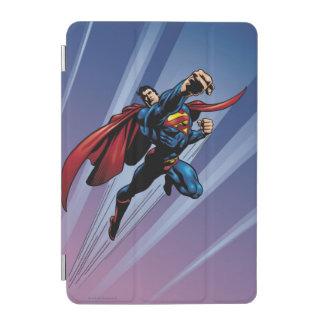 Superman with light streaks iPad mini cover