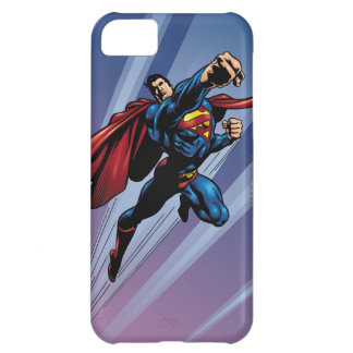 Superman with light streaks iPhone 5C case