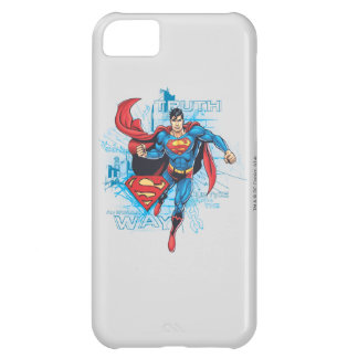 Superman with Logo 2 iPhone 5C Case