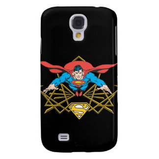 Superman with Logo Galaxy S4 Case