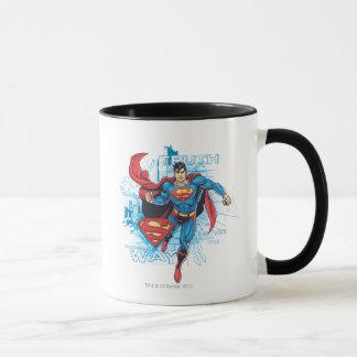 Superman with Logo Mug