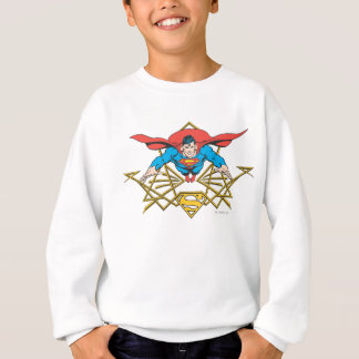 Superman with Logo Sweatshirt