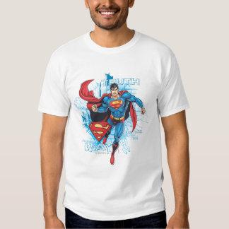Superman with Logo Tee Shirt