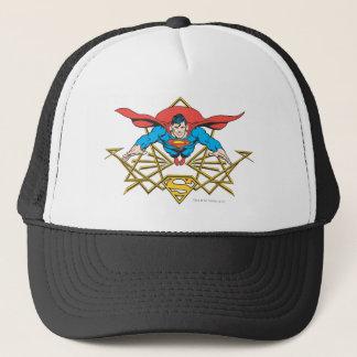 Superman with Logo Trucker Hat