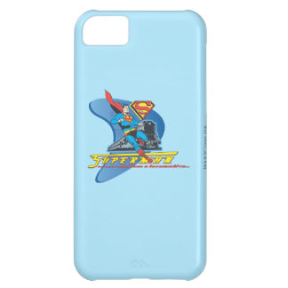 Superman with train - Color iPhone 5C Case