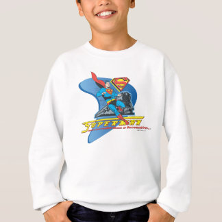 Superman with train - Color Sweatshirt