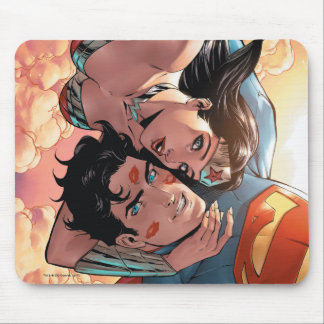 Superman/Wonder Woman Comic Cover #11 Variant Mouse Mat