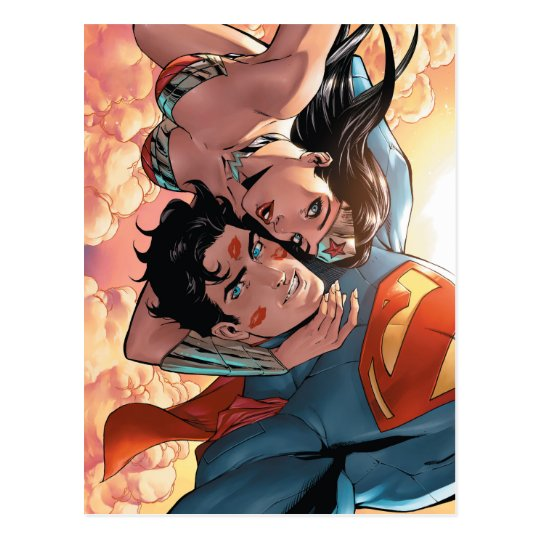 Superman/Wonder Woman Comic Cover #11 Variant Postcard