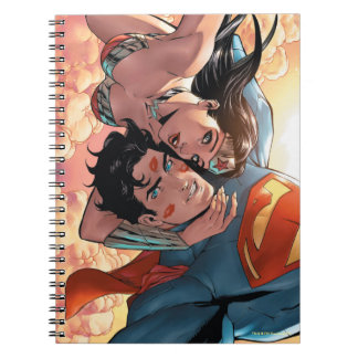 Superman/Wonder Woman Comic Cover #11 Variant Spiral Notebook