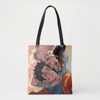 Superman/Wonder Woman Comic Cover #11 Variant Tote Bag