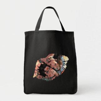 Superman/Wonder Woman Comic Cover #11 Variant Tote Bag