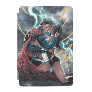 Superman/Wonder Woman Comic Promotional Art iPad Mini Cover