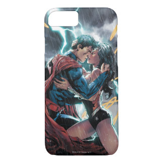 Superman/Wonder Woman Comic Promotional Art iPhone 8/7 Case