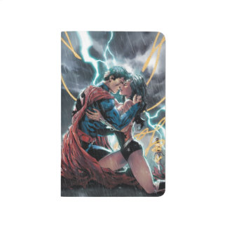 Superman/Wonder Woman Comic Promotional Art Journal