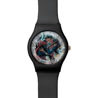 Superman/Wonder Woman Comic Promotional Art Watch